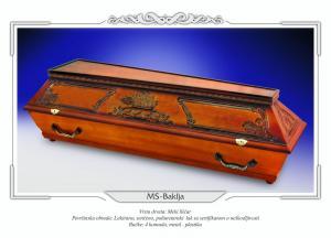 Pogrebni sanduk MS BAKLJA