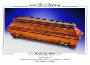 Pogrebni sanduk MS DUGA ŠTAMPA