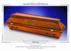 Pogrebni sanduk MS ISUS