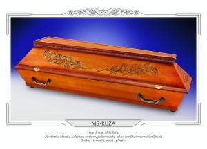 Pogrebni sanduk MS RUŽA