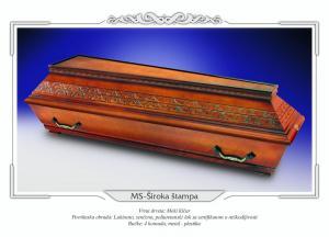 Pogrebni sanduk MS ŠIROKA ŠTAMPA