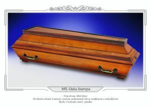 Pogrebni sanduk MS USKA ŠTAMPA
